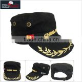 2014 new design promotional custom logo military hat caps
