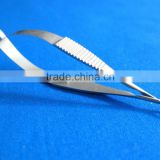 VANNAS CAPSULOTOMY SCISSOR 5MM BLADES CURVED/ophthalmic unit optical equipment/Best Dental Tools