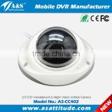 Small Vandalproof IR Mini Dome Camera Bus/Vehicle/Car Camera                                                                         Quality Choice