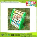 safety material and painting of wooden teaching tool alphabet learning frame maths educational toys