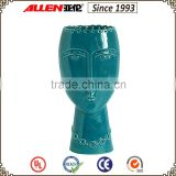 "11.6"" turquoise ceramic decoration vase for home                                                                         Quality Choice"