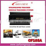 New arts and crafts car MINI gps tracker tk 103
