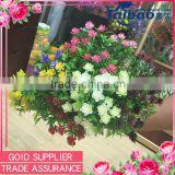 Small artificial flowers plastic grass flower for decorative indoor flower hanging basket                                                                         Quality Choice