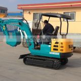 mini hydraulic crawler excavator/2.0ton mini excavator/rubber track excavator 1.8ton/mini digging machine/construction equipment
