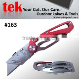 stainless steel blade safety box cutter knife for daily use