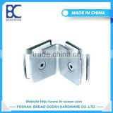 stainless steel type glass door hinge plastic glass clamp(DL-D012)
