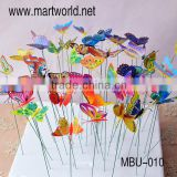 2016 New flying butterfly wedding decoration party decoration cake decoration(MBU-010)                                                                         Quality Choice