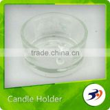 Made In China Valentine's Day Gift Glass Candle Stand