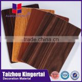 Alucoworld acp manufacturer BV certificates Fire Resistant core exterior wood wall cladding