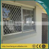 Guangzhou Factory Free Sample 7mm thickness Aluminium window security grill/decorative security grill