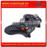 Carbon Fiber Hydro Dipping Wireless Game Remote Controller for Xbox360