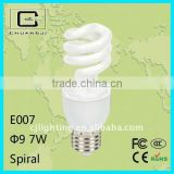 220-240V 50/60Hz spiral energy saving bulb cfl bulb with cheap price and durable performance