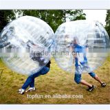 Funny bubble soccer ball TPU high quality body zorb ball bumper ball for adults and kits