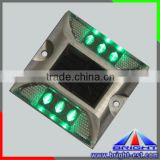 2 Sides Amber/Blue/Red/Yellow Flashing Solar Traffic Light 800mm Battery Powered Warning Signal