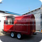 2014 Commercial Outdoor Folding Window Churro and Snack Food Fryer Trailer Machine XR-FC350 D                                                                         Quality Choice