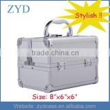 Travel Cosmetic Makeup Train Case Jewelry box Cheap Cosmetic Organizer Lockable ZYD-HZ308