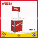 Exhibition Foldable Portable Display Table