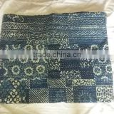Wholesale Lots Of~INDIGO Kantha Quilts Throws Bedspreads Cushion Covers~At highly discounted prices