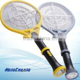 rechargeable detachable electric bug zapper /fly killer with torch