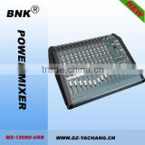 12 channel mixer for stage
