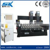 low price computer assisted wood router cnc engraving machine on granite stone SKS-1325 also cut on foam plastic