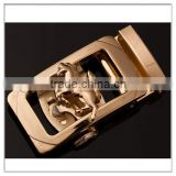 horse style high quality wholesale new gold belt buckles