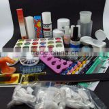 Acrylic Nail Art Premium Acrylic Nail Art Powder Liquid Brushes Buffer Decoration Full Kit Set HN1295