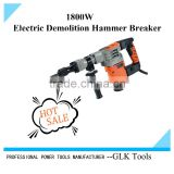 samll demolition hammer drill in electric hammer/jackhammer/drill hammer/breaker hammer 1250W