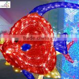 Outdoor decoration fish shape led festival light nice decorative light with high quality
