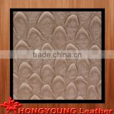anti-fire finger textured leather color customized ,for bed,door,decoration