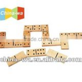wooden big domino toy set