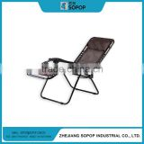 China Wholesale High Quality Promotional Folding Metal Deck Chair