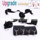 2016 New arrival male sex toys bondage set sex handcuffs ankle cuffs swing ball gag collars