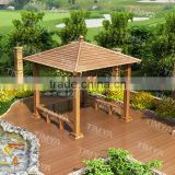 outdoor aluminum frame doubl lamp for garden line gazebo