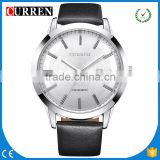 CURREN/CW030 Fashion Quartz-Watch Curren Male Watch Leather Wristwatches Men Curren Relogio Masculino