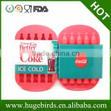 silicone bottle shape ice trays