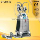 2016 Hot sell ETG50-4S skin care skin cooling /antifreeze price /vacuum cavitation slimming machine