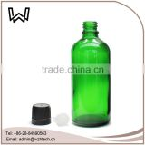 100ml green essential oil carrying case