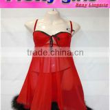 Top quality Open Girls Babydoll Dress (m3423)