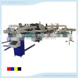 4 colors 14 stations automatic textile screen printing machine