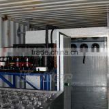 used Containerized block ice making machine, block ice plant, ice maker line