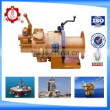 high speed Air Winch for oilfield (0.5Ton pull force )