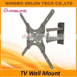 Economical VESA 400x400mm 360 degrees rotate cantilever wall mount swivel tv wall bracket stand holder