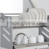 Hot sale stainless steel wire basket,stainless steel basket,kitchen wire rack and cabinet basket