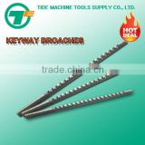 Metric Size Keyway Broach with Shim