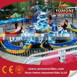 Theme park amusement rides water park equipment fight shark island of kids water games for sale