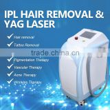2 In 1 Yag Laser Tatto Removal IPL Hair Removal Machine