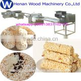 Swelled Candy Rice Cutting Machine /Cereal Bar Forming And Cutting Machine/Rice candy production line 008613837162178