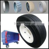 airport luggage cart solid wheel aircraft tyres 4.00-8 3.00 / 3.70 etc.