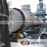 Zenith Energy-saving rotary kiln for calcined dolomite with large capacity